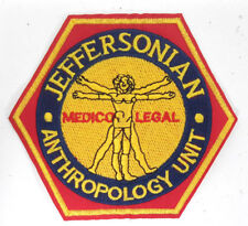 "Bones TV Series Jeffersonian Anthropology Logo 4"" Patch-USA Mailed (BOPA-01)"