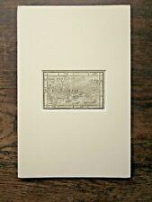 1571 Creta Crete Antique Map Petri Henricpetrina Munster Ptolemy Strabo SCARCE