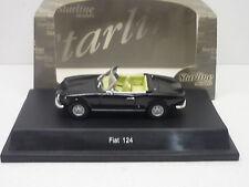 FIAT 124 SPIDER BLACK STARLINE MODELS 1/43 NEUF EN BOITE