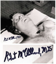 Dead John F. Kennedy Signed by Dr. Robert McClelland