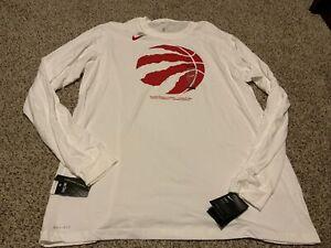 Nike Dri-Fit  Toronto Raptors Shirt Tee L/S Men's Size: 2XL-Tall NWT