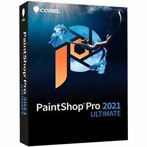 PaintShop Pro 2021 Ultimate | Photo Editing & Graphic Design Software PLUS