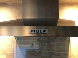 Wolf Stove Range Oven Hood | Adhesive Emblem Decal Placard | Ships Worldwide
