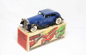 Triang Minic Police Car Traffic Control Car In Its Original Box - Excellent