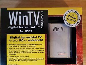 Hauppauge WinTV NOVA-T-USB2 Digital TV Tuner.