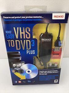 Roxio Easy VHS to DVD 3 Plus Converter - 251000, 687967132748