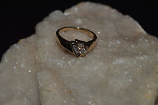 LADIES 10KT GOLD/DIAMOND(.23 TCW)ENGAGEMENT RING(2.7GRAMS)SIZE 7