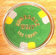 (1) $25. Sundance West CASINO CHIP - Las Vegas, Nevada - 1976