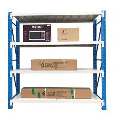 2Mx2M Metal Warehouse Racking Storage Garage Shelving Steel Shelf 800kg Shelves