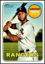 2018 Topps Heritage High Baseball Base Singles #501-725 (Pick Your Cards)