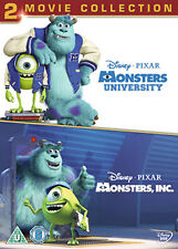 DVD:MONSTERS UNI / INC 2 MOVIE COLLECTION - NEW Region 2 UK