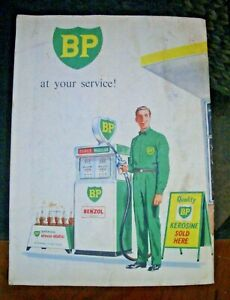 Vintage BP Roadmap Victoria.  Booklet - Sell for Charity