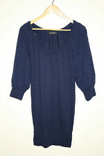 Dorothy Perkins Designer Knitted Woman's 3/4 Sleeve Dress Tunic Size 6 Oversize