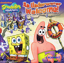 Nickelodeon's SpongeBob Squarepants AN UNDERWATER WELCOME Softcover Book Age 4+