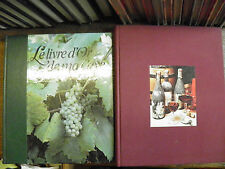 Le livre d'or de ma cave + Larousse des vins / Lot de 2 livres