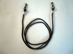 12 Black Glasses Straps, Neck Cord Lanyard for Glasses