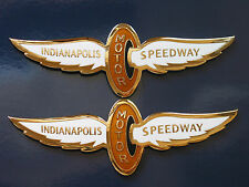 89 Pontiac Firebird 20th Anniversary Turbo Trans Am Indy Wing Rocker Badge Pair
