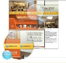 D002  2500 PROFESSIONAL WEBSITE LEARN HOW TO CREATE GUIDES/TEMPLATES CD
