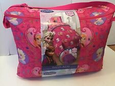 Disney Frozen Florals 4-piece Bed in a Bag with Sheet Set