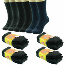 excell Men's Heavy Duty Winter Socks, 9-13, 12-Pack