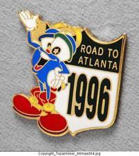 OLYMPIC PINS 1996 ATLANTA MASCOT IZZY ROAD TO GAMES