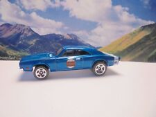 69 DODGE CHARGER   2015 Hot Wheels Performance Series   Blue
