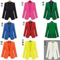 Womens Dress Suit Blazer Invisible Fastenings OL Casual Outwear Jacket Plus Size