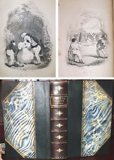 WOW POINTS!! 75 PLATES!! 1ST/1ST 1837 THE PICKWICK PAPERS Charles Dickens 1ST-ED