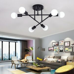 Room Black Pendant Light Kitchen Lamp Home Chandelier Lighting Bar Ceiling Light