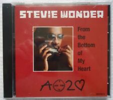 From the Bottom of My Heart [Single] by Stevie Wonder (CD, Jun-2005, Motown)
