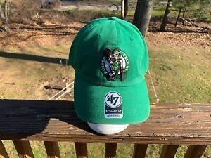 Boston Celtics Adjustable Clean Up hat by '47
