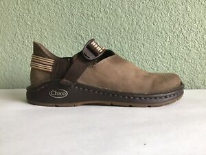 """Chaco """"Pedshed"""" Brown Leather Shoes Size"""