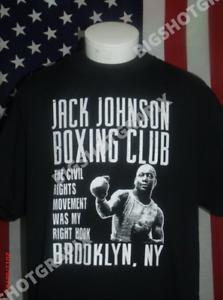 Boxing T-shirt M Tyson  Ali  Jack Johnson Unlimited Americana