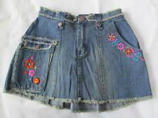 NWT Stuff By Hillary Duff Girl's Jean Denim Skirt Size L (12-14) $38