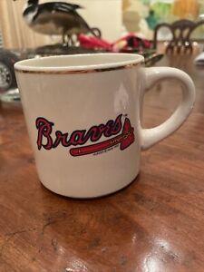 Vintage Atlanta Braves Coffe Cup