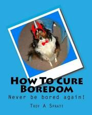 How to Cure Boredom by Troy A. Spratt (2009, Paperback)