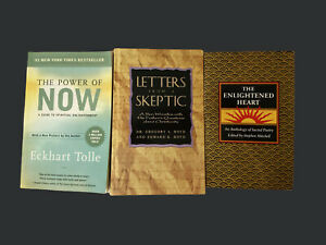 The Power of Now Eckhart Tolle , Letters From A Skeptic Boyd , Enlightened Heart