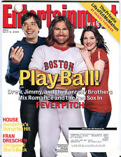 Entertainment Weekly April 8 2005 Jimmy Fallon Johnny Damon EX 011916jhe2