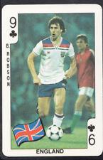 World Cup England Football Trading Cards Season 1992