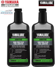 2x YAMAHA YAMALUBE Ring Free Plus Fuel Additive 32oz Outboard ACC-RNGFR-PL-32