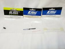 Blade MSR Helicopter Parts Bundle CF Main Shaft Anti-Rotation Collar Glow Flybar