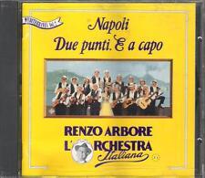 """RENZO ARBORE - RARO CD 1993 FUORI CATALOGO """" NAPOLI  DUE PUNTI . E A CAPO """""""