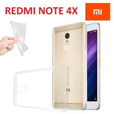 COVER TRASPARENTE ULTRA SLIM PER XIAOMI REDMI NOTE 4X CUSTODIA TPU GEL