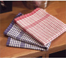 Pack of 10 Wonderdry Kitchen Tea Towels 100% Cotton Quick Dry Bar Glass Cloths