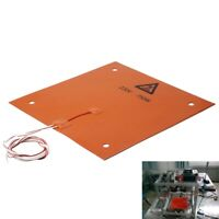 200x200x3mm 200W 220V Silicone Heating Pad 3D Printer Heated Bed Large Plate