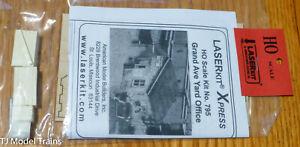 American Model Builders HO #795 Grand Ave Yard Office, Kit (Laser Kit)