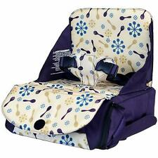 Munchkin Travel Child Booster Seat - Purple.Portable