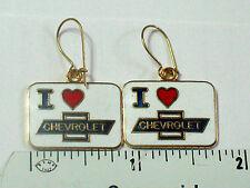 I Love Chevrolet Earrings , ( )