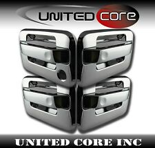 04 05 06 07 08 09 10 11 12 13 14 Ford F150 Chrome Door Handle Cover 1 Keyhole