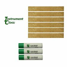 Clarinet Tenon Joint Cork, 6 Pack, with 3 Tubes of Cork Grease